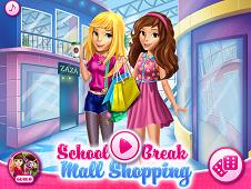 School Break Mall Shopping