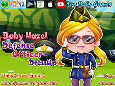 Baby Hazel Defense Officer Dress-Up