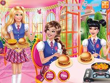 Princesses Burger Cooking