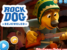 Rock Dog Bejeweled