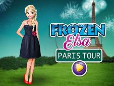 Frozen Elsa Paris Tour Dress Up