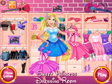 Sweet Princess Dressing Room