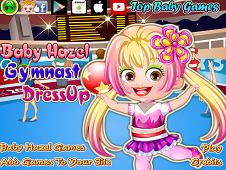 Baby Hazel Gymnast Dress-Up