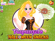 Rapunzel's Halloween Snacks