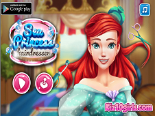 Sea Princess Hairdresser