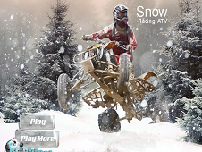Snow Racing ATV