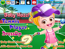 Baby Hazel Tennis Player Dress-Up