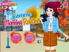 Jasmine Morning Routine