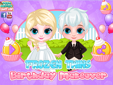Frozen Twins Birthday Makeover