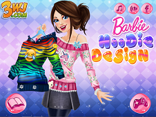 Barbie Hoodie Design