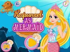 Rapunzel As Mermaid