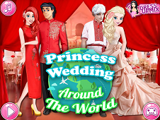 Princess Wedding Around The World