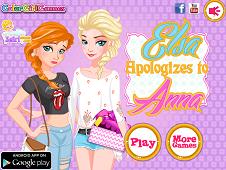 Elsa Apologize to Anna