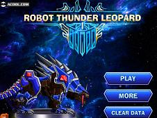 Robot Thunder Leopard