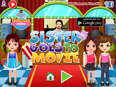 Sister Goes to Movie