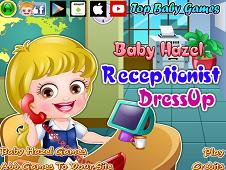 Baby Hazel Receptionist DressUp