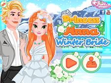 Princess Anna Winter Bride