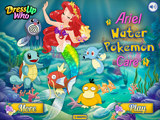 Ariel Water Pokemon Care