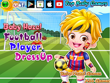 Baby Hazel Football Player Dress-Up