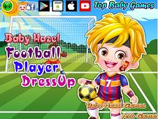 Baby Hazel Football Player Dress-Up