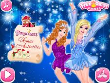 Princesses Xmas Activities