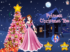 Princess Christmas Tree