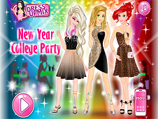 New Year College Party