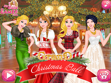 Princess Grand Christmas Ball