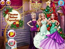 Princesses Christmas Preparations