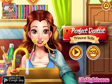 Perfect Dentist Princess Belle