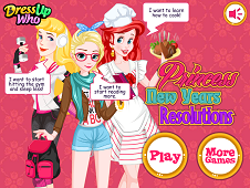 Princess New Year's Resolutions