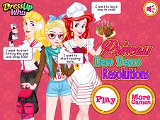 Princess New Year Resolutions