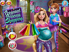 Pregnant Princess Shopping