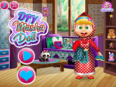 DIY Masha Doll