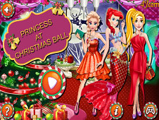 Princess At Christmas Ball