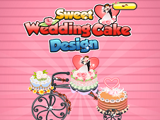 Sweet Wedding Cake Design