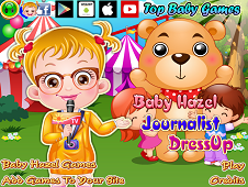 Baby Hazel Journalist Dress-Up