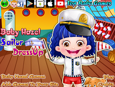 Baby Hazel Sailor Dress-Up