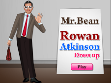 Mr. Bean Rowan Atkinson Dress Up