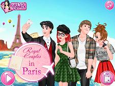 Royal Couples In Paris