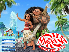 Moana Candy Shooter