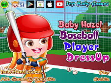 Baby Hazel Baseball Player Dress-Up