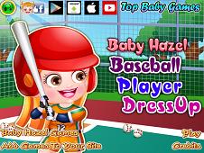 Baby Hazel Baseball Player Dress-Up