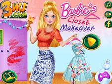 Barbie Closet Makeover