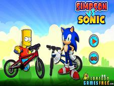 Simpson vs Sonic