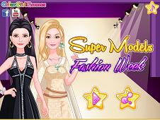 Supermodels Fashion Week