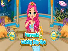 Mermaid Wedding Spa Day