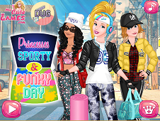 Princesses Sporty & Funky Day