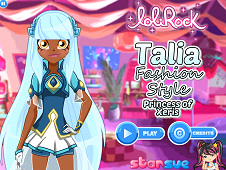 Lolirock Princess of Xeris Talia