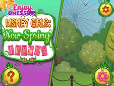 Disney Girls: New Spring Trends